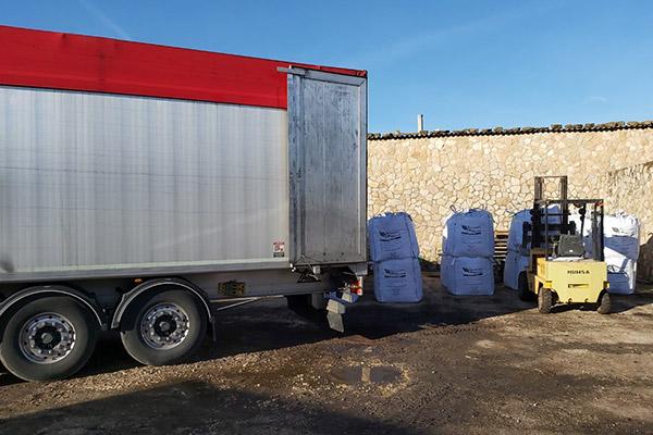 Transporte de Humus de Lombriz