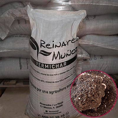 Sacos Sustrato fertilizado